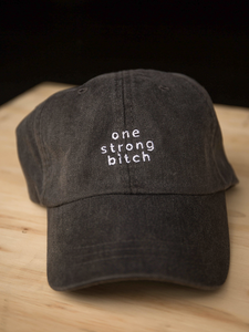 Black OSB Dad Hat