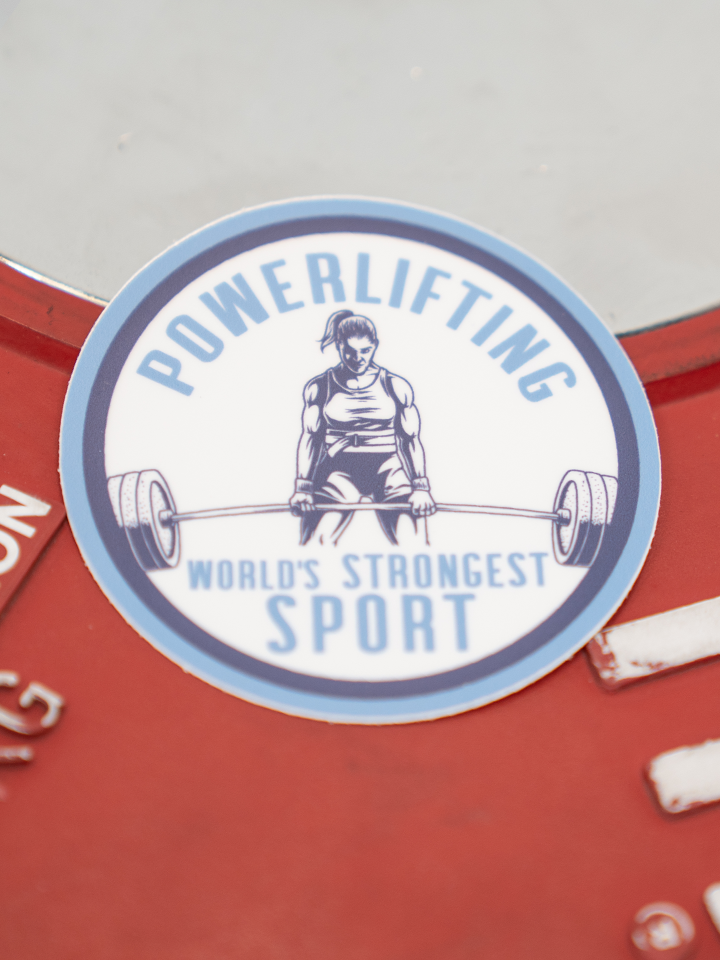 World's Strongest Sport Sticker