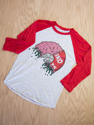Plate Brains Raglan