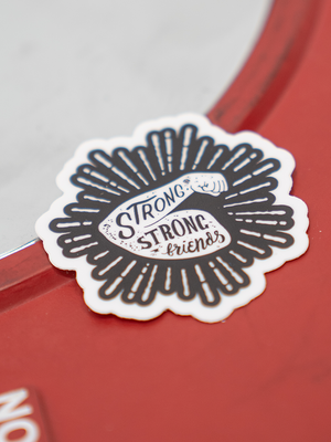 Mini Strong Strong Friends Sticker