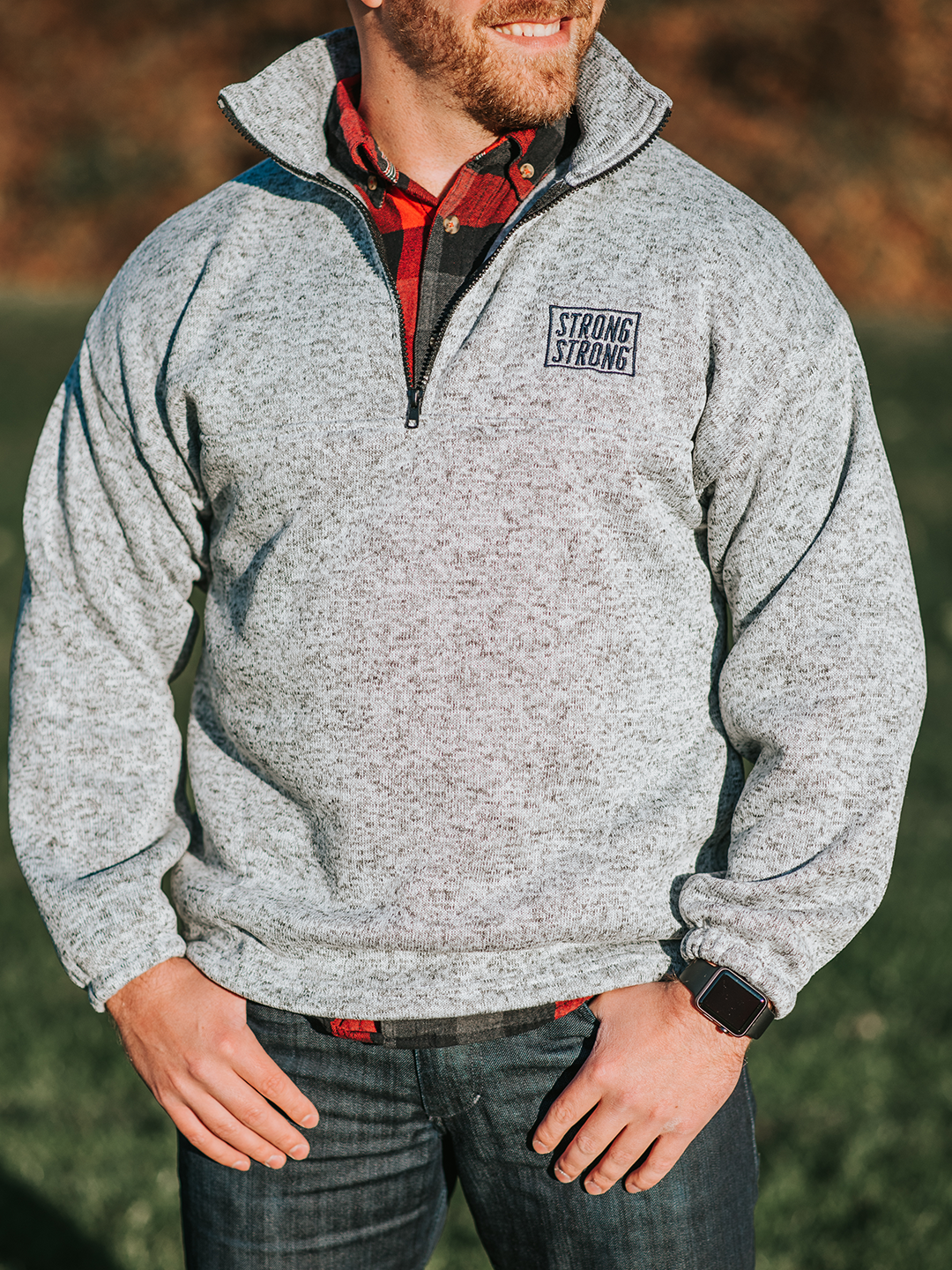 Fleece Quarter-Zip Pullover