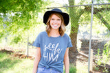 seek Him rocker tee