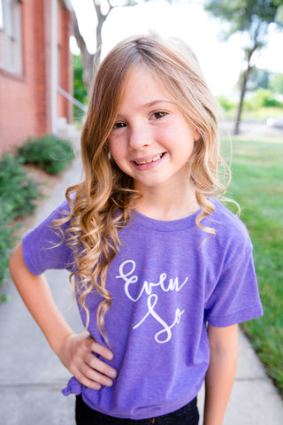 even so littles triblend tee