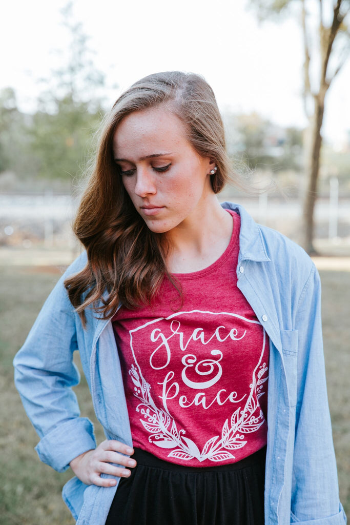 grace & peace keepsake tee