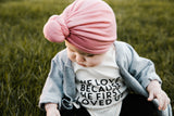 He first loved us littles organic tee