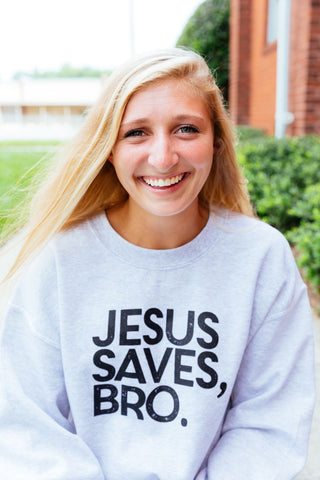 Jesus saves bro basic crew