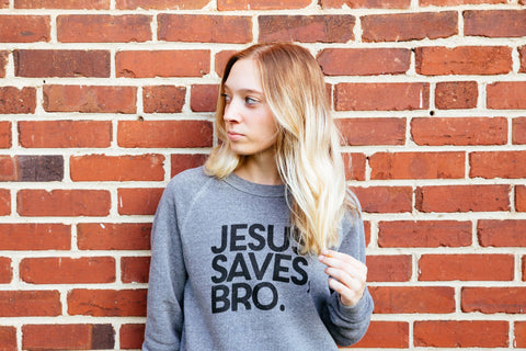 Jesus saves bro champ