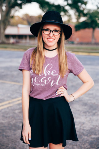 take heart keepsake tee