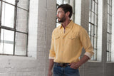 Ryan Michael Men's 4 Needle Shirt - Flax