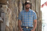Ryan Michael Men's Plaid Short Sleeve Shirt - SALE