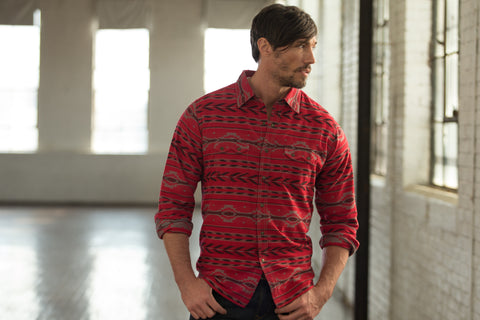 Ryan Michael Men's Beacon Blanket Shirt - SALE