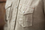Ryan Michael Men's Split Rail Seam Shirt - Tumbleweed - SALE