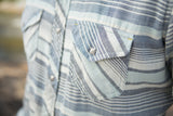 Ryan Michael Men's Horizon Striped Shirt