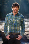 Ryan Michael Men's Sequoia Plaid Shirt - SALE