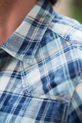 Ryan Michael Men's Medina River Plaid Shirt