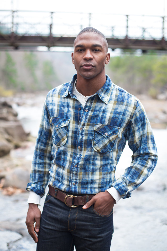 Ryan Michael Men's Lakeside Plaid Shirt