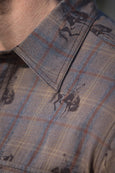 Ryan Michael Men's Bucking Horse Plaid #9