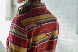 Ryan Michael Women's Serape Stripe Shirt - SALE