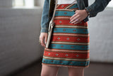 Ryan Michael Women's Serape Stripe Skirt - SALE