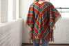 Ryan Michael Women's Serape Stripe Poncho - SALE