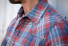 Ryan Michael Men's Frost Yarn Plaid Shirt - SALE