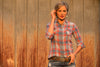 Ryan Michael Women's Frost Plaid Shirt
