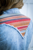 Ryan Michael Women's Serape Yoke Shirt - SALE