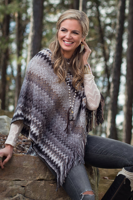 Ryan Michael Women's Jackson Peak Shawl - SALE
