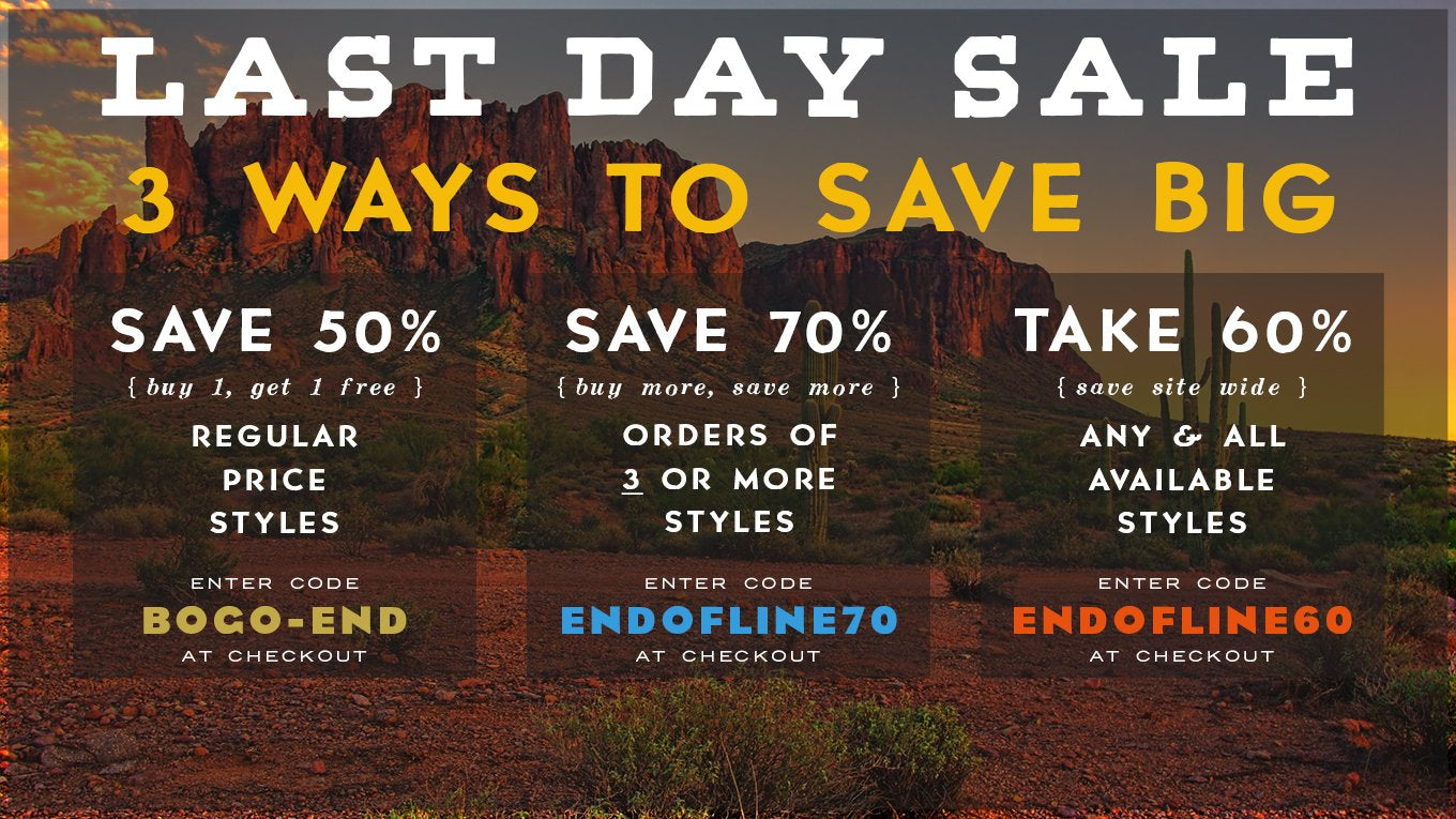 Ryan Michael - End of the Lines Sale - Save 60% with code ENDOFLINE60