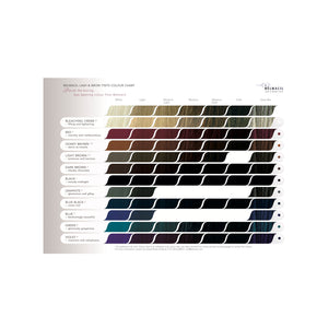 Belmacil A5 Colour Chart