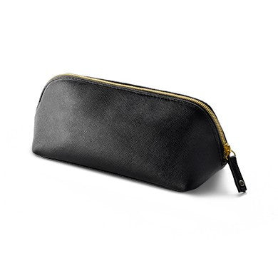 Luxurious Black & Gold Cosmetic Bag - Lash & Brow Professional