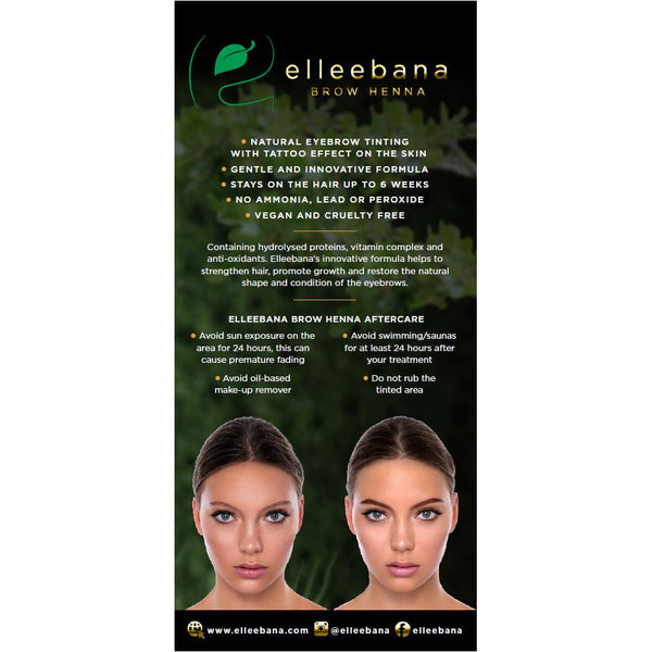 Elleebana Brow Henna Colours Iucn Water