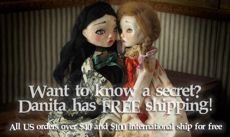 Introducing FREE shipping at danitaart.com
