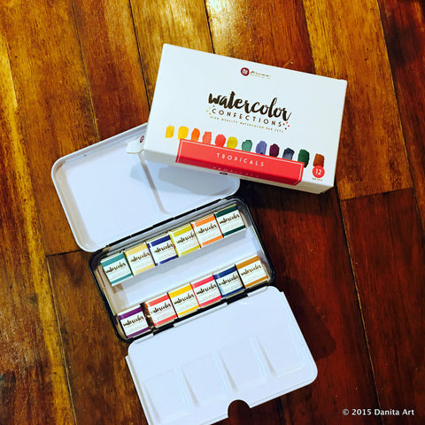 Prima Marketing Watercolor Confections