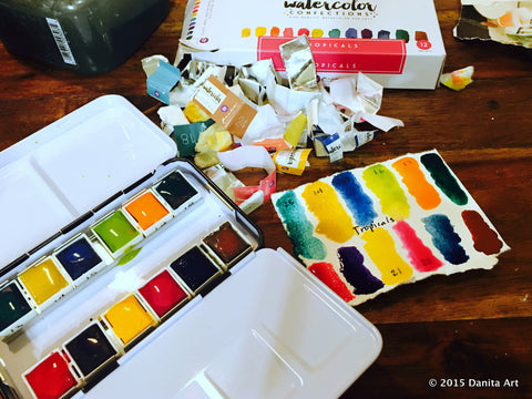 Prima Marketing Watercolor Confections the tropicals