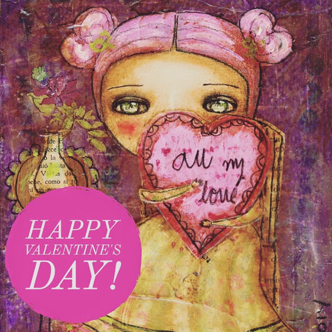 Have a very happy Valentine's Day from Danita Art