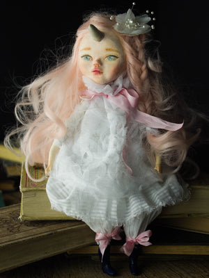 Lady Clementine, Art Doll by Danita Art