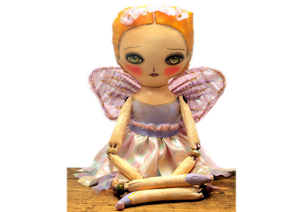 The Forest fairy, a custom art doll set., Art Doll by Danita Art