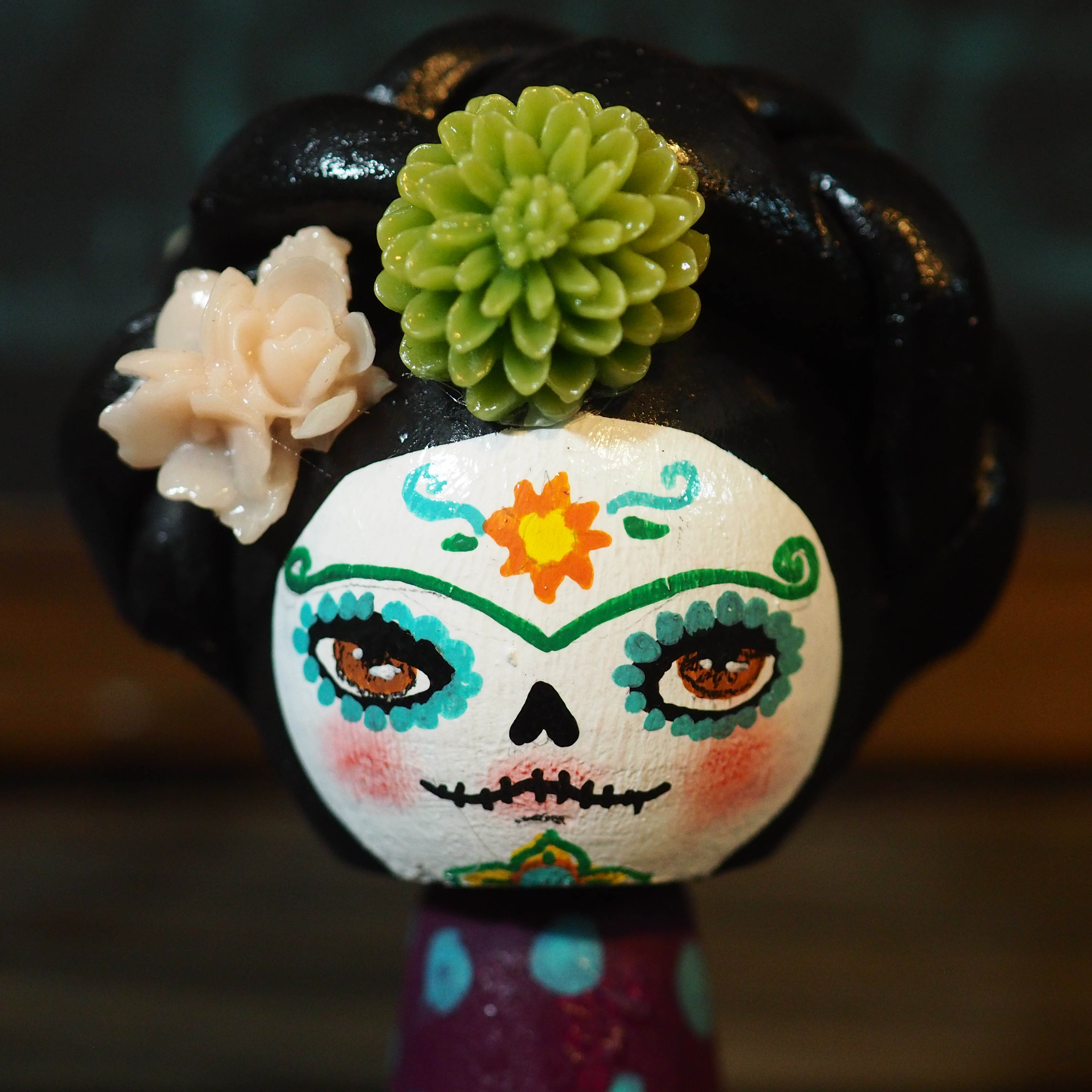FRIDA CATRINA - Original Kokeshi art doll by Danita Art