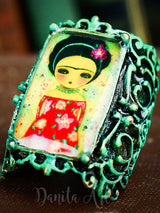 Blooming Frida, Jewelry by Danita Art