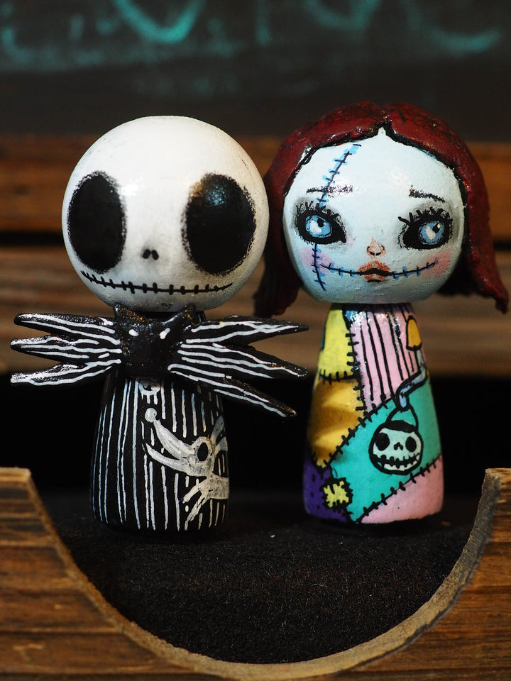 Jack Pumpkin Danita Halloween Nightmare Before Christmas Kokeshi