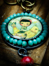 Precious cargo, an original handmade necklace and pendant created by Danita Art