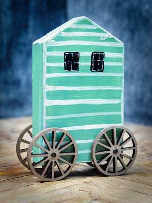 CHANGING HOUSE, Miniature Dolls by Danita Art