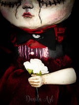 Scarlett, Art Doll by Danita Art