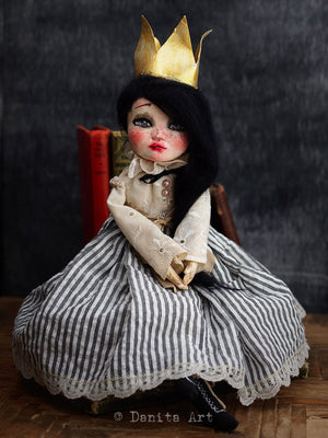 Queen Rose, Art Doll by Danita Art