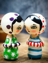 Abby, Miniature Dolls by Danita Art