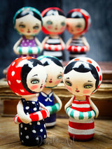 Beatrice, Miniature Dolls by Danita Art