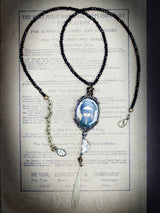 A halloween inspired, dark necklace by Danita Art