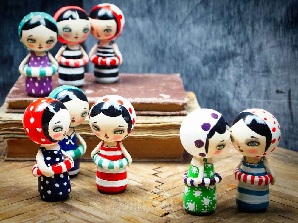 Lilly, Miniature Dolls by Danita Art