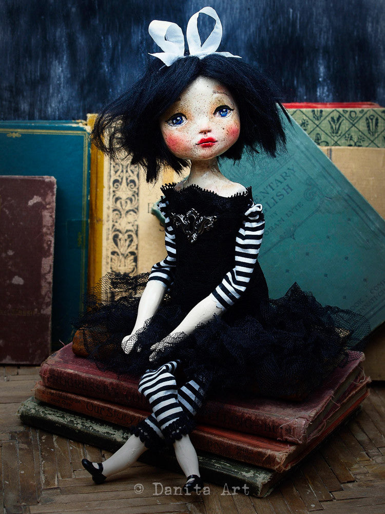 Marielena, Art Doll by Danita Art